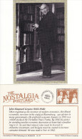 Postcard John Maynard Keynes 1883-1946 Modern Economics Nostalgia Economist Repro - Famous People
