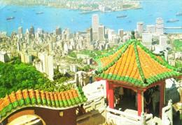 Hong Kong And Kowloon From The Peak - China (Hongkong)