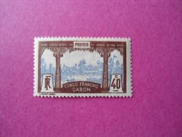Gabon Poste Neuf * N° 42 ( Lot 44 ) - Gabon (1886-1936)