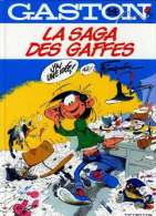 GASTON N° 14 RE BE LA SAGA DES BAFFES DUPUIS 4e-1982 - Gaston