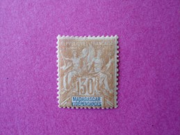 Madagascar Poste Neuf  N° 36 * Charnière  ( Lot 24 ) - Madagascar (1889-1960)