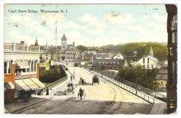 Court  Street  Bridge,  Woonsocket,  R.  I. - Providence