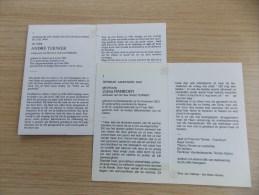 2 Doodsprentjes : Koppel André Ternier - Zulma Ramboer - Religion & Esotérisme