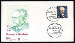 29838) Berlin - Michel 401 - FDC - 60Pf Hermann Von Helmholtz - [5] Berlijn