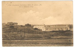 The  Louisiana  Exhibition 1904,  St.  Louis,  Mo.  ---  Fort  At  Philippine  Village - St Louis – Missouri