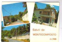 Piemont. Torino.Saluti Da MONTECOMPOSTO - Italie
