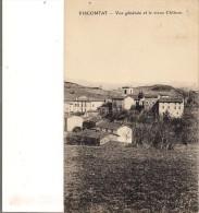 VISCOMTAT. VUE GENERALE ET LE VIEUX CHATEAU. - Other Municipalities