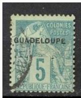 Guadeloupe Yvert 17° Voir Scan, Cote 8.00 - Oblitérés