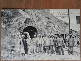 L´hospitalet.grève Du Transpyrénéen.grévistes Sortant Du Tunnel - France