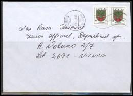 LATVIA Cover LV 145 Postal History Coat Of Arms - Lettonie