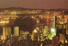 Hong Kong Night Scene - China (Hongkong)