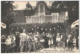 91 - MORSANG-SUR-ORGE - Parc De Beauséjour - Le Pavillon Louis XIV Un Jour De Kermesse - Leprunier, éditeur, Juvisy - Morsang Sur Orge