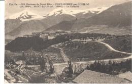 POSTAL   FONT ROMEU PAR ODEILLO -MONT  LOUIS- LA CITADELLE-  ENVIRONS DU GRAND HÔTEL - France