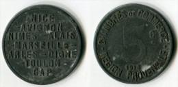 N93-0121 - Monnaie De Nécessité - Région Provençale - 5 Centimes 1918 - Noodgeld