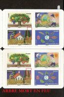 """Carnet Variété """"fête De La Terre 2011"""" Neuf** Y & T N° Bc 526 Non Plié 3° Arbre Mort - Varieteiten: Postzegelboekjes"""
