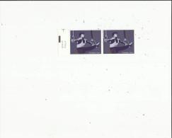 2  Timbres  Neufs  De L'Année  2001  Gymnastique - Belgique