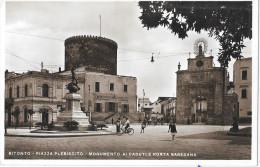 PUGLIA-BITONTO PIAZZA PLEBISCITO MONUMENTO AI CADUTI E PORTA BARESANA - Bitonto