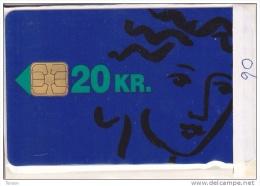 Denmark, DB 006, K.t.a.s. 20kr. (blue), Mint In Blister, Only 1250 Issued. - Danemark
