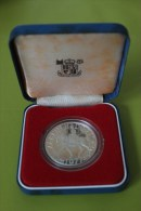 25 NEW PENCE Argent 1977 PROOF Avec Coffret - 1971-… : Monnaies Décimales