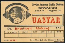 """ARCTIC, RUSSIA ,  Amateur Radio Station """" UA 3 YAR """",  Look Scan !! - Antarctische Expedities"""
