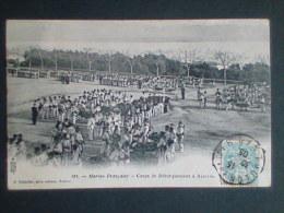 Marine Française. Corps De Débarquement à Ajaccio - Ajaccio