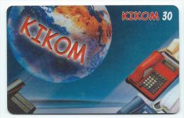 MADAGASCAR Carte à Codes Recharge KIKOM 30 Expire 10/01 - Madagaskar
