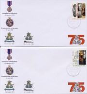 Veldpost: 2 Gelegenheidsenveloppen (2000) - Period 1980-... (Beatrix)