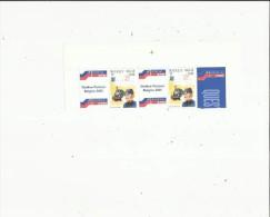2  Timbres  Neufs  De L'Année  2001 - Belgique