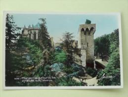Montpellier La Tour Du Pin Et L'Abside De La Cathedrale 1952 - Montpellier