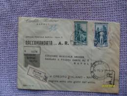Credito Italiano PERFIN Su Italia Al Lavoro 65 E 15 Lire Raccomandata A/R - 6. 1946-.. Repubblica