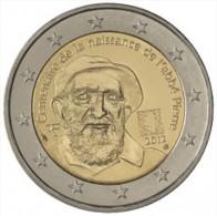 2 Euros CC France 2012 Abbé Pierre UNC - Frankrijk