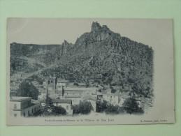 St Guilhem Le Desert Et Le Chateau De Don Juan - France