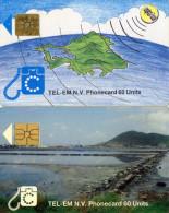 TELECARTES  SAINT-MARTIN/SAINT-MARTEN S   60 Units/9,85 US$   (lot De 2) - Antilles (Françaises)