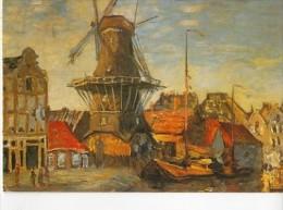 """ART668 - Claude MONET - """"Moulin à Amsterdam"""" - Pintura & Cuadros"""