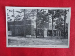 GA - Georgia > Augusta  Post Theatre Oliver Hospital  Not mailed   ref 1185