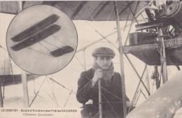LE CROTOY - Ecole D'aviation Des Frères CAUDRON - L'aviateur JACQUEMART - Le Crotoy