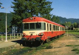 RU 0502 - Autorail Caravelle X 4750 (4772) En Gare - KRUTH (68) - SNCF - - Trains