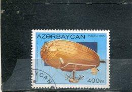 AZERBAIJAN. 1995. SCOTT 511. BALLOONS AND AIRSHIPS. US MARINE BALLOON, 1917 - Azerbaïdjan