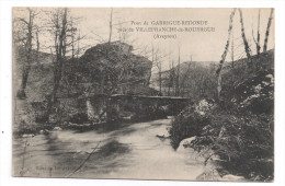 CP , 12 , PONT DE GARRIGUE REBONDE , Près De Villefranche De Rouergue - Villefranche De Rouergue