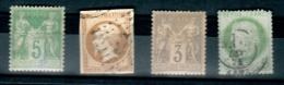 Timbre N ° 64 Neuf**5 C. Vert Type 1 Année 1876/78 Cote 900 Euro 3 Offert Voir - 1876-1878 Sage (Type I)