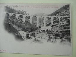 Vence Vallee De La Cagne Et Viaduc Du Chemin De Fer Sud France1902 - Vence