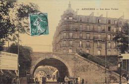22833 ASNIERES - Les Deux Voutes -32 Ed ? Publicite Terrains à Batir - Asnieres Sur Seine