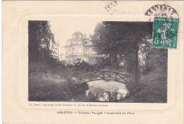 22835 ASNIERES - Chateau Pouget Ensemble Du Parc -Deval Journaux Cartes Postales -facon Gravure - Asnieres Sur Seine