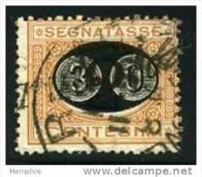 1890 Taxe 30 Cent Sur 2 Cent - 1878-00 Humbert I.