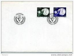SWEDEN 1980  FDC  International Year For The Disabled, Blind Child Scott 1354-5  Mi Nr 1143-4 - FDC
