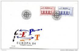 SUEDE 1984    FDC  Europa  Mi Nr 1270-1 - FDC