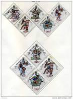 UMM AL QIWAIN  Jeux De Mexico  Série Complète 9 Timbres  Et 1 BF NSC ** - Estate 1968: Messico