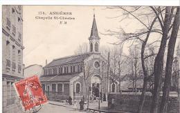 22840 ASNIERES - Chapelle Saint-Charles - 178 EM Malcuit Paris -- - Asnieres Sur Seine