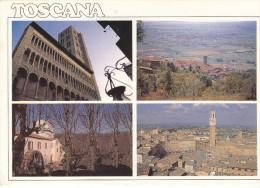 Arezzo(La Pieve)-Cortona(AR)Panorama-Chiusdino(SI)Mulino Bianco-Sena Panorama (viiaggiata X Germania Il 20/4/......) - Italie