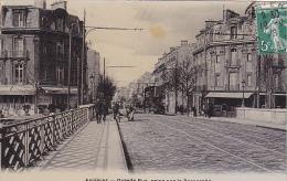 22843 ASNIERES - Seine -grande Rue, Prise Sur La  Passerelle -ed Mme  Leteurtre, A - Café Au Pere A;;;; - Asnieres Sur Seine